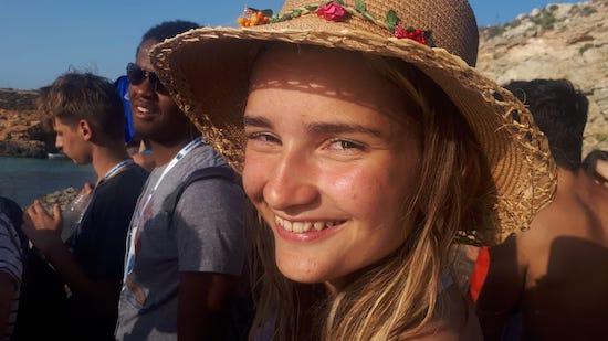 foto bambina a malta