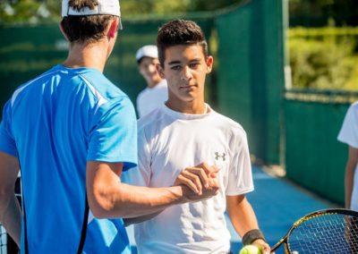 tennis + inglese