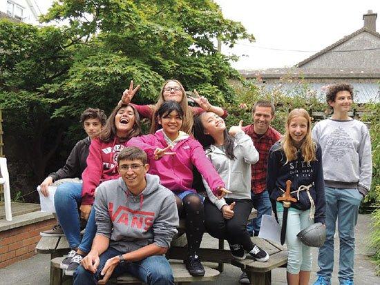 giovani studiano in Irlanda