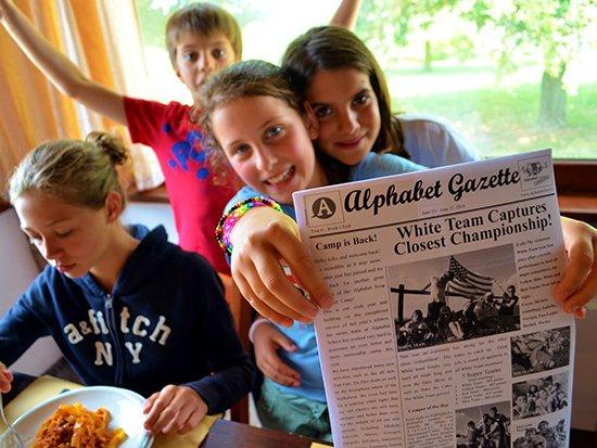 Alphabet Gazette